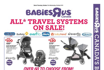 Babies R Us Flyer October 3 to 9