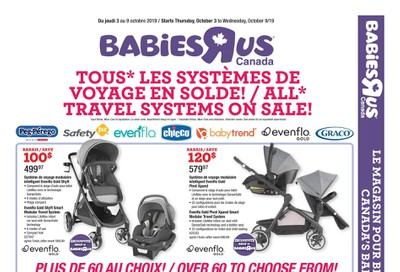 Babies R Us (QC) Flyer October 3 to 9