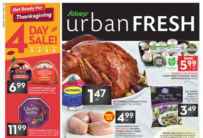 Sobeys Urban Fresh Flyer October 3 to 9