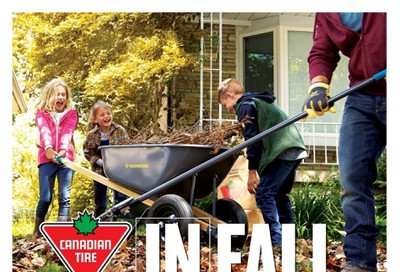 Canadian Tire In Fall Catalogue September 27 to October 17