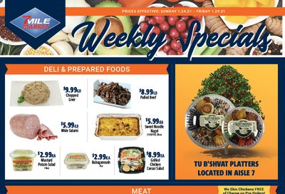 7 Mile Market Weekly Ad Flyer January 24 to January 29, 2021