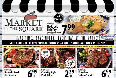 The Market in the Square Weekly Ad Flyer January 24 to January 30, 2021