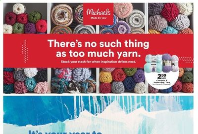 Michaels Weekly Ad Flyer January 24 to January 30