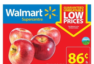 Walmart Supercentre (Atlantic) Flyer October 3 to 9
