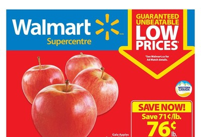 Walmart Supercentre (West) Flyer October 3 to 9