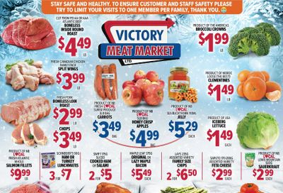 Victory Meat Market Flyer January 26 to 30