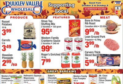 Bulkley Valley Wholesale Flyer October 2 to 8