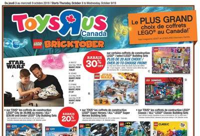 Toys R Us (QC) Flyer October 3 to 9