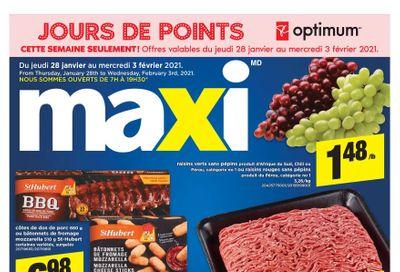 Maxi & Cie Flyer January 28 to February 3