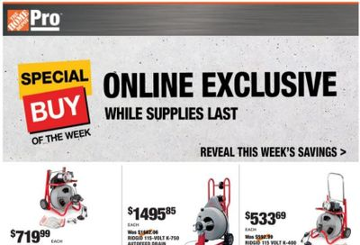 The Home Depot Weekly Ad Flyer January 25 to February 1