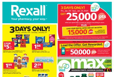 Rexall (ON) Flyer January 29 to February 11