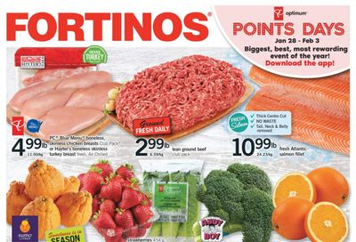 Fortinos Flyer January 28 to February 3