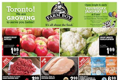Farm Boy (Toronto) Flyer January 28 to February 3