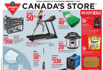 Canadian Tire (ON) Flyer January 29 to February 4