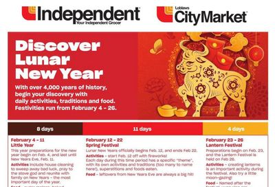 Loblaws City Market (West) Chinese New Year Flyer January 28 to February 17