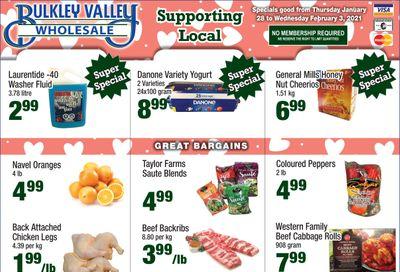 Bulkley Valley Wholesale Flyer January 28 to February 3
