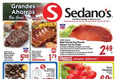 Sedano's (FL) Weekly Ad Flyer February 3 to February 9