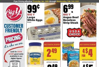 Big Y (CT) Weekly Ad Flyer January 28 to February 3