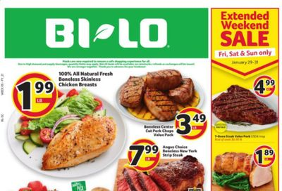 BI-LO Weekly Ad Flyer January 27 to February 2