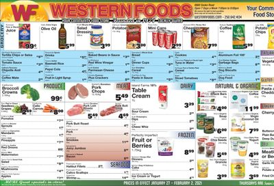 Western Foods Flyer January 27 to February 2