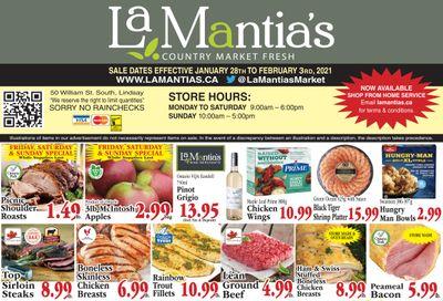 LaMantia's Flyer January 28 to February 3