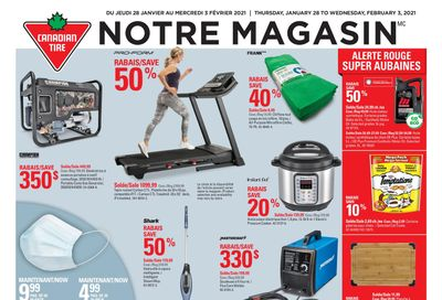 Canadian Tire (QC) Flyer January 28 to February 3
