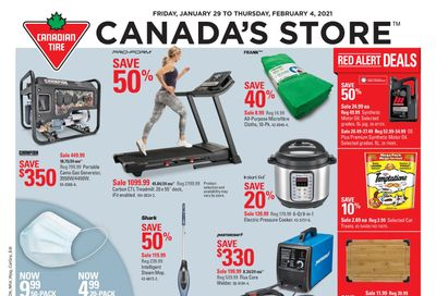 Canadian Tire (West) Flyer January 29 to February 4