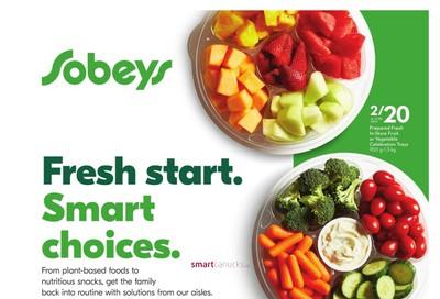 Sobeys (ON) Wellness Flyer August 8 to September 18