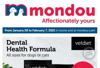 Mondou Flyer January 28 to February 7