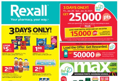 Rexall (West) Flyer January 29 to February 11