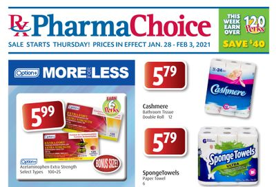 PharmaChoice (ON & Atlantic) Flyer January 28 to February 3