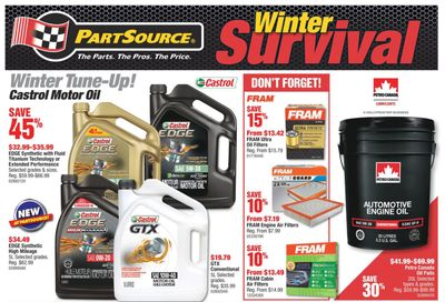 PartSource Flyer January 29 to February 10