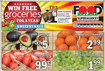 Food Bazaar Supermarket Weekly Ad Flyer January 28 to February 3, 2021