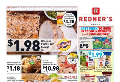 Redner's Weekly Ad Flyer January 28 to February 3, 2021