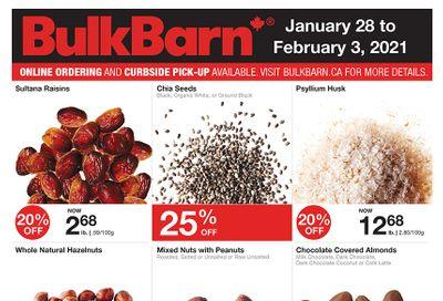 Bulk Barn Flyer January 28 to February 3