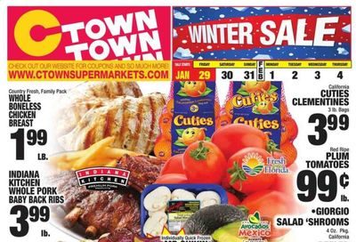 C-Town Weekly Ad Flyer January 29 to February 4