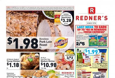 Redner's Markets Weekly Ad Flyer January 28 to February 3