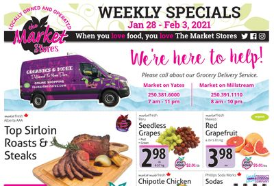 The Market Stores Flyer January 28 to February 3