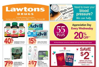 Lawtons Drugs Flyer January 29 to February 4