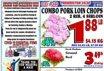 Fredericton Co-op Flyer January 28 to February 3