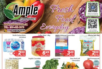 Ample Food Market Flyer January 29 to February 4