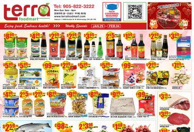 Terra Foodmart Flyer January 29 to February 4
