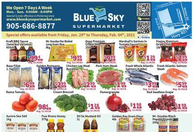 Blue Sky Supermarket (Pickering) Flyer January 29 to February 4