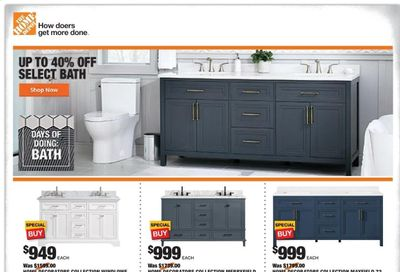 The Home Depot Weekly Ad Flyer January 28 to February 4