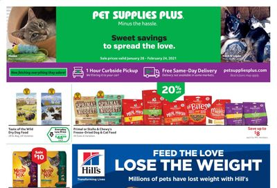 Pet Supplies Plus Weekly Ad Flyer January 28 to February 24