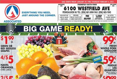 Associated Supermarkets Weekly Ad Flyer January 29 to February 4
