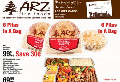 Arz Fine Foods Flyer January 29 to February 4