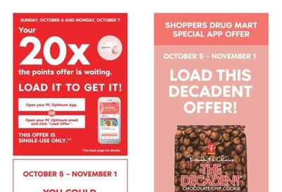 Shoppers Drug Mart (Atlantic) Flyer October 5 to 10