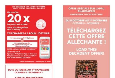 Pharmaprix Flyer October 5 to 10