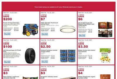 Costco (QC) Weekly Savings February 1 to 28
